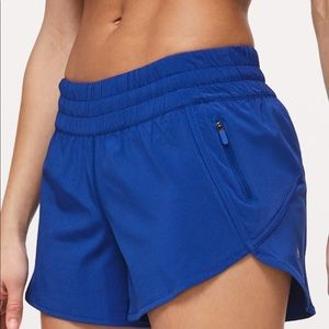 "Lululemon tracker V 4"" shorts size 4"